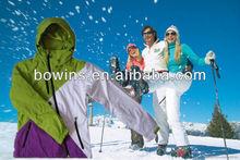 colourful waterproof sport ski coats for women