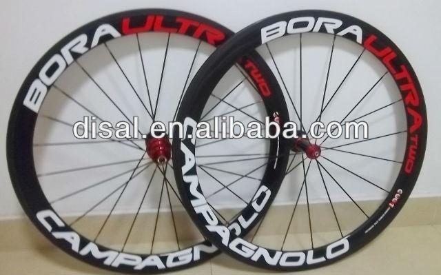 campagnolo bora, carbon clincher wheelset, 50mm clincher carbon wheelset