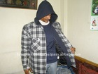 Fashionable Men Hooded Jacket