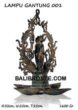LAMPU GANTUNG BUDDHA001 - BaliBronze.com