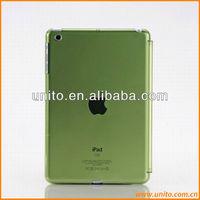 Smart Cover Compatible Companion PC Back Cover Crystal Case For iPad Mini