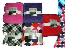 Microplush blankets