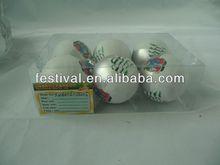 2014 new arrival promotion printing christmas ball,plastic christmas ball buy hand warmer