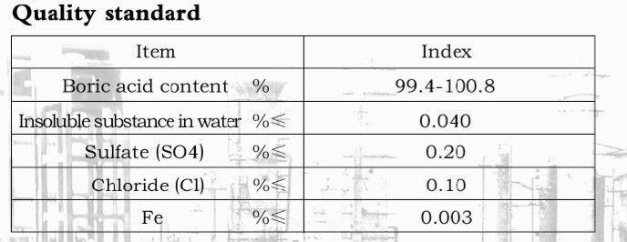 Oxalic and boric acid