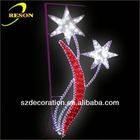 CE,ROHS RS-motif14 2013 china manufacturer led wreath christmas decoration