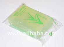 Transparent soap Relina Green garden aloe vera