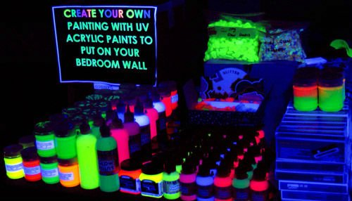 uv glow paint buy fluro paint product on. Black Bedroom Furniture Sets. Home Design Ideas