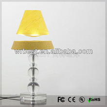 New home decoration for wedding house, new invention magnetic floating table lamp