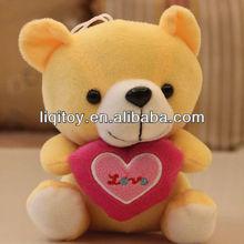 Stuffed plush small teddy bear pendant