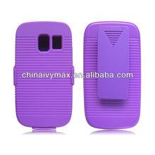 smart durable PC cases for Nokia asha 302 holster hybrid case