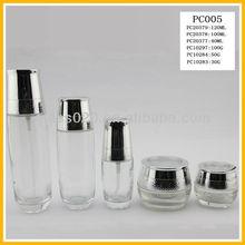 30g cream glass jar 50ml glass bottle