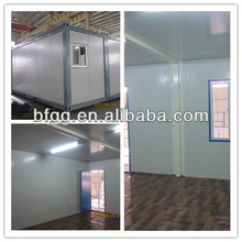 low cost/heat insulated school 40ft/20ft container house
