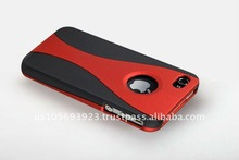 Cell phone Rubberized Hard Case for Apple Iphone 4 G&iphone4S