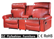 New Design Recliner Electric Massage Sofa /leather electric Sofa bed OF-66