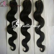 BetterHair 5a grade cheap 100% brazilian remy virgin human fake hair