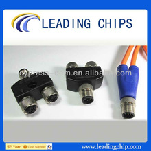 M12 Y type waterproof connector