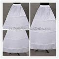 Venta al por mayor bola vestido de novia enaguas/fondos underskirt crinolina 3 aro para vestidos de novia