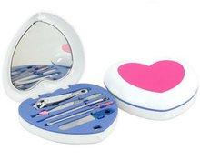 Love Shape Compact Manicure & Beauty Set