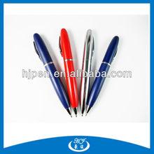 Customized Logo Fat Barrel Uni Metal Ball Pens
