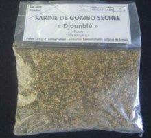 dried powdered okra