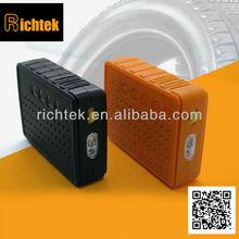 Richtek auto bike tire pump/portable rechargeable tire pump for bike with battery