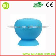 New Design Colorful Waterproof Mini Mushroom Wireless Bluetooth Speaker