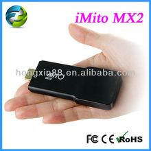 Android 4.1 Dual Core HDMI MINI PC TV Dongle iMito MX2 1GB 8GB