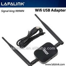 High Power Signal King 2000mW 48DBI USB Wireless Adaptor SignalKing 999WN Wifi Antenna 150Mbps Ralink 3070