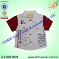 tecido de algodão shirts meninos 2014 para o verão