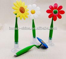 New Flower shape Plastic Ball Pen for promotion