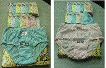 Ladies Semi Panty Hemming/Inside Garter