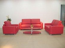 Top Italian Leather Sofa (D20l)