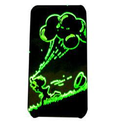 plastic led case for apple flash case