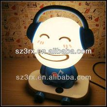 vinyl pvc design flashing figure;pvc design led light doll