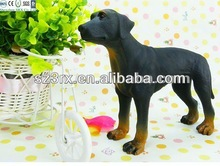 cute dog vinyl pet toy for kids