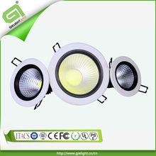 2013 new decorative recessed 3w 5w 10w 12w 15w COB 10w led downlight Anti-glare reflector hot sell