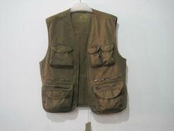 multi pocket mens fishing vest