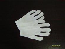 White Cotton Glove Throw Away
