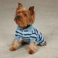 listrado cão t polo camisetas