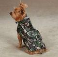 camo mirada para perros lluvia chaqueta de abrigo