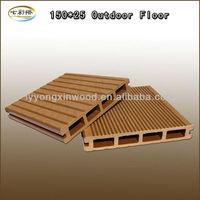 Wood Plastic Composite garden decking planks/WPC deck floor