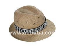 Gentry straw hat