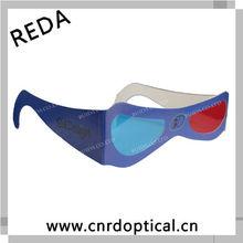 Paper 3D Glasses for blue eyed movie