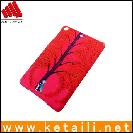hard matte case for ipad mini with two edges full printing