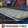2013 new design external fiber glass wool sandwich wall panel