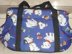 "DOG TRAVEL BAG SOFT Pet Cat Travel Carrier / Tote Bag / 10"" X18"" Purse"