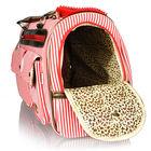 Puppy Dog Cat Pet Animal Red Carrier Tote Bag Handbag Cage Box Stuff Zipper Best