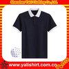 Fancy cotton polka dot design short sleeve poloshirt, polo tee shirt for young men