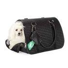 Cat/Dog Fashion Elegant basket weave design Bag Carrier
