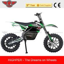 2013 New 500W Mini Electric Mini Dirt Bike Motorcycle For Kids (HP110E-C)